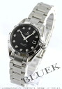 Omega Cima star aqua terra 2564.55 automatic diamond black Lady's
