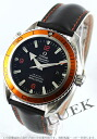 Omega Seamaster Planet Ocean 2908.50.82 co-axial chronometer 600 m waterproof rubber black mens