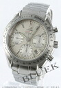 Omega speed master date chronometer chronograph silver men 323.10.40.40.02.001