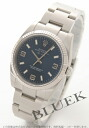 Rolex Ref.114234 air King WG bezel blue Arabia men
