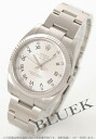 Rolex Ref.114234 air Dai King-ya index WG bezel silver long novel men