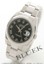 Rolex Ref.116200 date just black long novel men