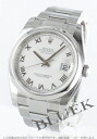 Rolex Ref.116200 date just white long novel men
