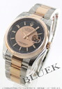 Rolex Datejust Ref.116201 PG Combi black & pink gold mens