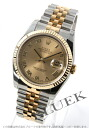 Rolex Ref.116233 date just YG combination gold long novel men
