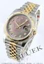 Five Rolex Ref.116233 date just YG combination diamond index breath black shell men
