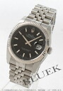 Rolex Ref.116234 Datejust WG bezel 5 black men's breath