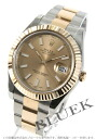 Rolex Ref.116333 date just YG combination gold men