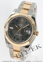 Rolex Ref.116333 Datejust YG duo grey Roman men