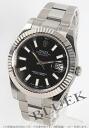 Rolex Ref.116334 Datejust WG bezel black mens