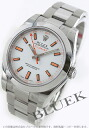 Men's Rolex milgauss watch Ref.116400 white bar