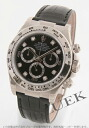 Rolex Ref.116519G Cosmo graph Daytona WG pure gold 8P die yak local people leather black men