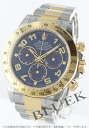 Rolex Ref.116523 Cosmo graph Daytona YG combination blue Arabia men