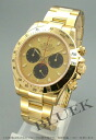 Men's pure gold gold and YG Cosmograph Daytona Rolex Ref.116528