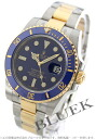 Rolex Ref.116613 Submariner date YG Combi blue mens