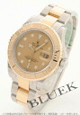 Rolex Ref.16623 yacht master YG combination gold men