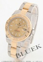 Rolex Ref.168623 yacht master YG combination gold Boys