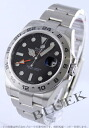Rolex Ref.216570 Explorer II GMT black mens