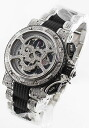 アクアノーティック キングクーダ diamond automatic chronograph silver & Black mens KRP32NGR2RSKLT02SH