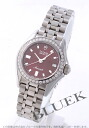 15810 チュードルモナーク diamond bezel red Lady's