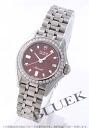 15810 チュードルモナーク diamond bezel red Lady's watch clocks