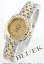 Tudor classic 22013 YG Combi guilloché 5 breath gold ladies