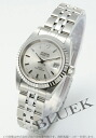 Tudor Princess date 92414 WG bezel silver ladies