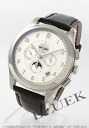 Zenith ground class L primero moon phase alligator leather black / silver men 03.0520.4100/02.C492GB