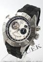 ゼニスデファイクラシックオープングランデイトマルチシティシルバー & black men 03.0526.4037/01.R642 watch clock