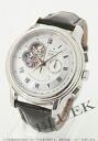 Zenith Grand Chrono master XXT open El Primero alligator leather Black / Silver mens 03.1260.4021/02.C505 watch clock