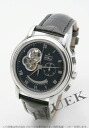 Zenith ground Kurono master XXT opening L primero alligator leather black men 03.1260.4021/21.C505