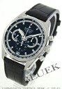 Zenith El Primero 36000 VpH chronograph tachymeter alligator leather black mens 03.2040.400/21.C496