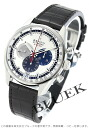 Zenith L primero 36000VpH automatic chronograph leather brown / silver men 03.2040.400/69.C494