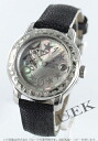 Zenith baby star オープンシー DIA bezel leather black / black shell Womens 16.1223.68/83.C598