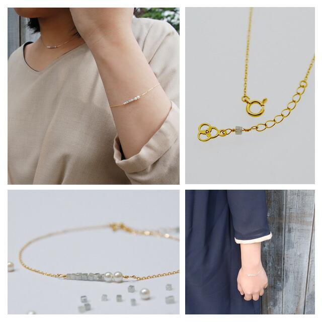 アコヤ真珠ネックレス k18 ゴールドブレスレット べビーパールネックレス