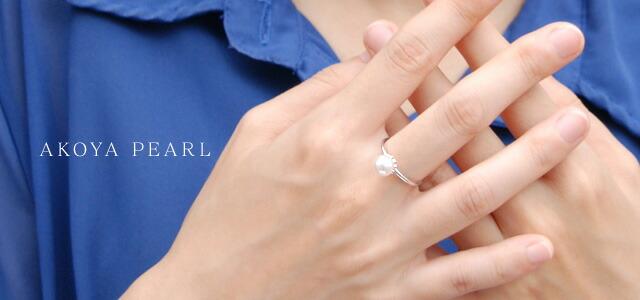 パール リング 人気 普段使い 楽天 真珠 指輪