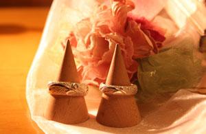 シルバーリング(唐草甲丸)ギフト