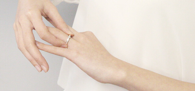 0.1ct ダイヤモンド リング シルバー