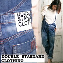 Double standard closing / seminaries / DOUBLE STANDARD CLOTHING soft denim romper [3/3 in stock now»