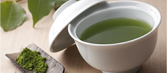 健康桑茶。大学の桑畑から
