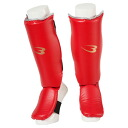 レガースシン type 4 martial arts karate boxing kick boxing practice Dojo supporters guard armor defense Shin guard leg foot 2013w_zaikoshobun 2013w_fight1day