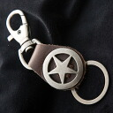 Leather key holder C05 leather key ring leather antique accessories souls SOULS mens low