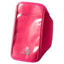 Arm holder (clear Pocket type) pouch bag wristlet running jogging sports bag walking mobile phone ipod Walkman music