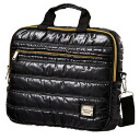 Quilted bag 3B ( Briefcase ) quilted purse bag Briefcase quilting MEN men's simple Bag Black Black [3IKB33/3ikb33/3IKB33]