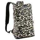 キャンパスカモ print backpack camouflage casual bag rucksack backpack