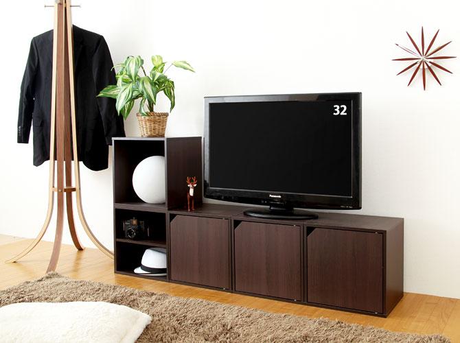 カラー ボックス テレビ 台