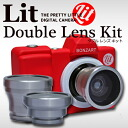 BONZ-lit/2 BONZ-LENS BOZART Lit + Double Lens Kit ボンザート リトプラス double lens Kit TOY CAMERA toy camera toideji digital camera toy female camera kids cameras