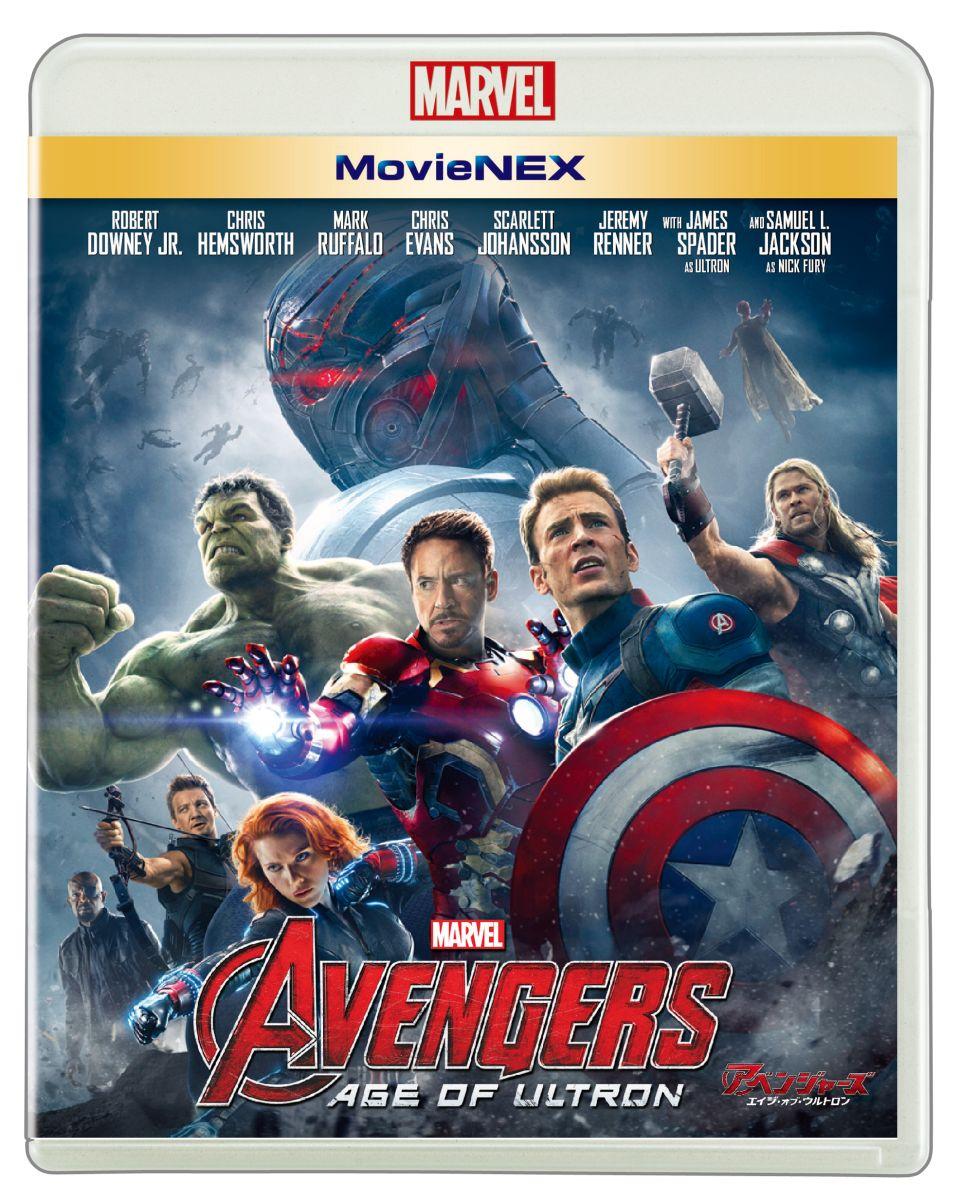アベンジャーズ/エイジ・オブ・ウルトロン MovieNEX[VWAS-6172][Blu-ray/ブルーレイ] 製品画像