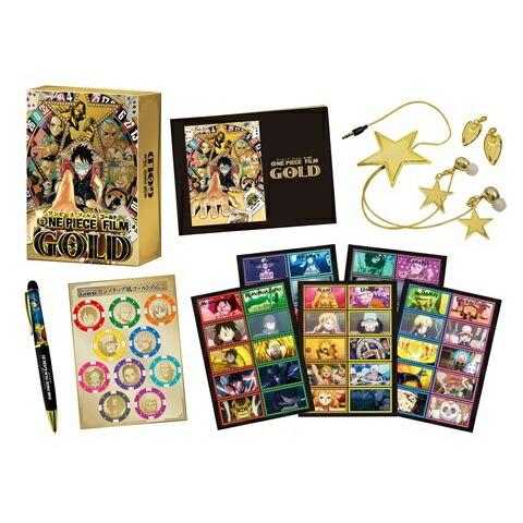 ONE PIECE FILM GOLD Blu-ray GOLDEN LIMITED EDITION[PCXP-50455][Blu-ray/ブルーレイ] 製品画像