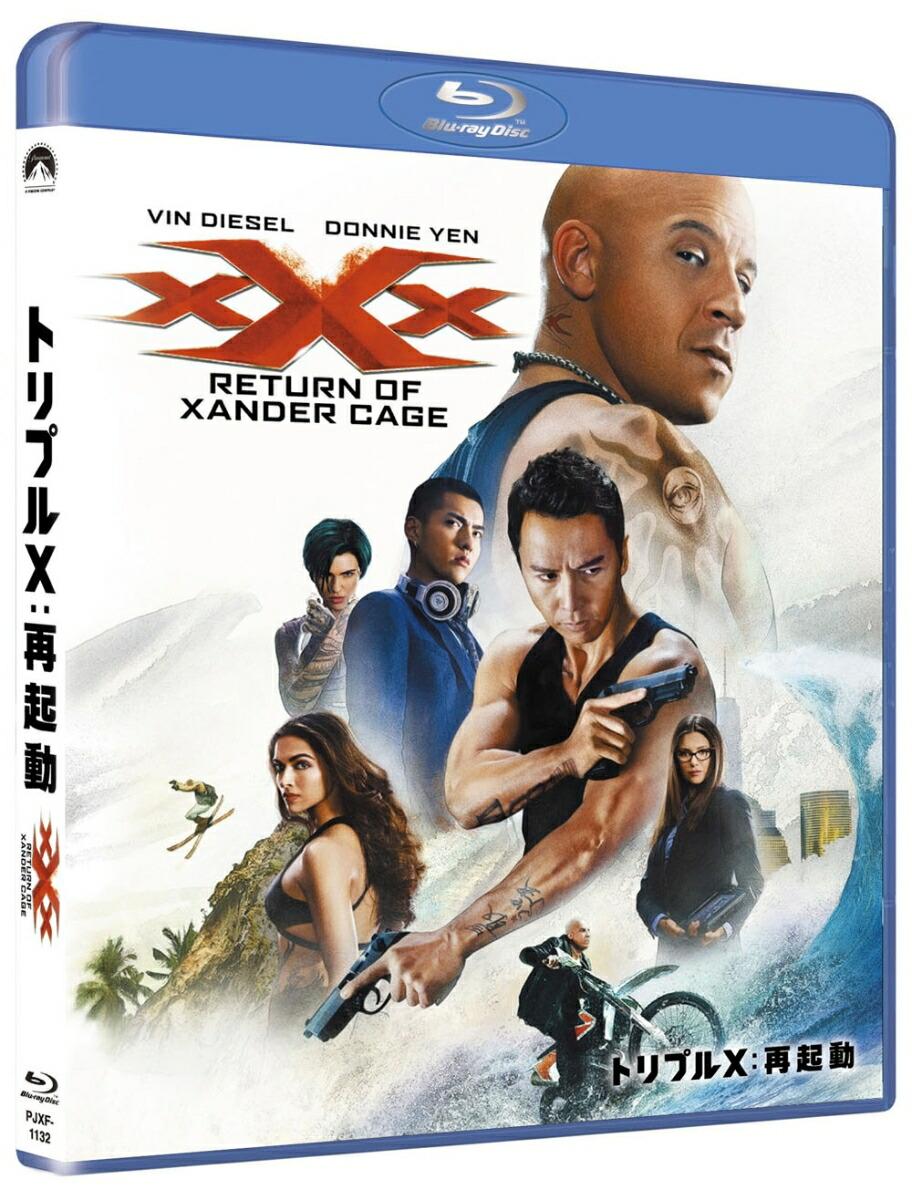 トリプルX:再起動[PJXF-1132][Blu-ray/ブルーレイ] 製品画像